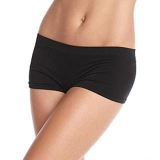 Prestige Biatta Women's Black Seamless Hot Shorts