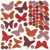 Wall Decor Butterfly Silhouettes