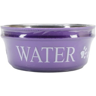 Food & Water Set Large 2qt-Lilac