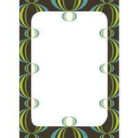Loopy Blue/ Green Dry Erase Board Decal