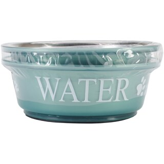 Food & Water Set Small 1pt-Teal