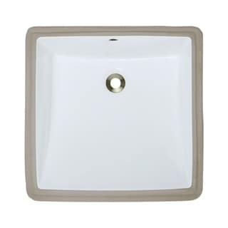 MR Direct u2230 Porcelain Undermount Bathroom Sink