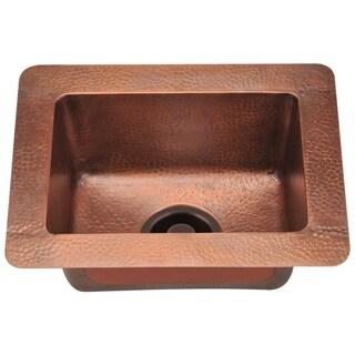 MR Direct 905 Small Single Bowl Copper Sink