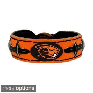 GameWear NCAA Football Team Logo Leather Bracelet (O-W) (Option: Oregon State Beavers)|https://ak1.ostkcdn.com/images/products/9544855/P16725651.jpg?impolicy=medium