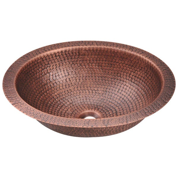 Com shopping great deals on premier copper products bathroom sinks - Mr Direct 909 Single Bowl Oval Copper Sink 16725653