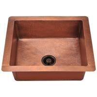 904 Single Bowl Copper Sink