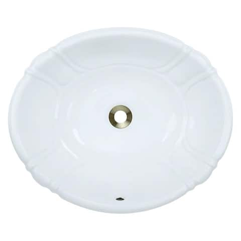 o1815 Porcelain Vessel / Drop-In Bathroom Vanity Sink