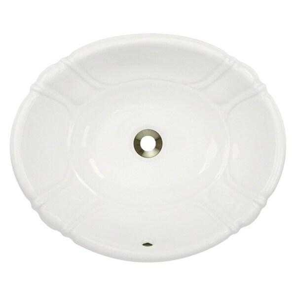 o1815 Porcelain Vessel / Drop-In Bathroom Vanity Sink