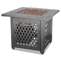 Shop Lp Gas Outdoor Firebowl With Tile Free Shipping