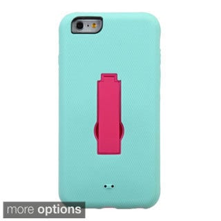 INSTEN Symbiosis Stand Hybrid Phone Protector Cover For Apple iPhone 6 Plus