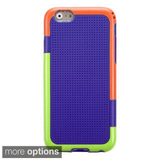 INSTEN Glassy Solid Bright Color Gummy Phone Cover Case For Apple iPhone 6