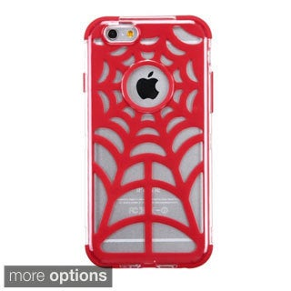 INSTEN T-Clear Spider Web GloCase Hybrid Phone Cover For Apple iPhone 6