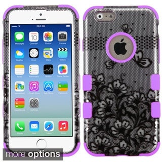 INSTEN Design Pattern TUFF Hybrid Phone Protector Cover Case For Apple iPhone 6