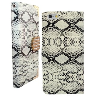 INSTEN Diamond Wallet Flap Pouch with Card Slot For Apple iPhone 6 Plus