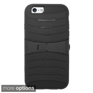 INSTEN UCASE Cover with Kickstand and Screen Installed For Apple iPhone 6 Plus