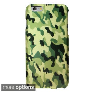 INSTEN Rubberized Design Hard Snap-On Phone Cover Case For Apple iPhone 6 Plus