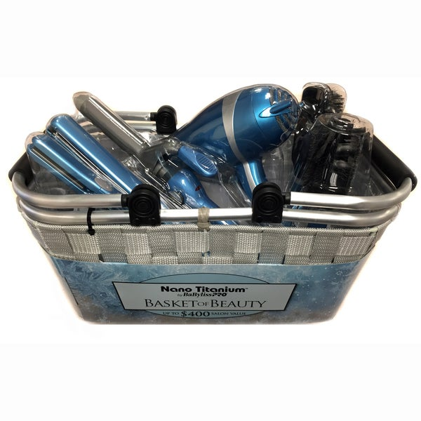 Babyliss Pro 6 Piece Basket Of Beauty Essentials Free