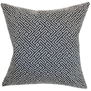 Ocussi Geometric Feather and Down Filled Throw Pillow