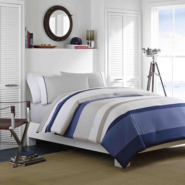 Nautica Grand Bank 5-Piece Cotton Bed in a Bag Set
