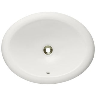 MR Direct Bisque Overmount Porcelain Vanity Bowl