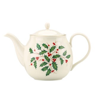 Lenox Holiday Teapot