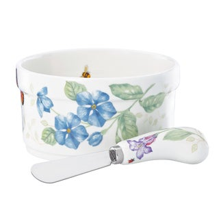 Butterfly Meadow Dip Bowl and Spreader