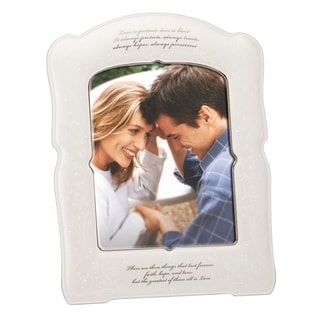 Lenox Opal Inn Love Is Patient Frame 8X10