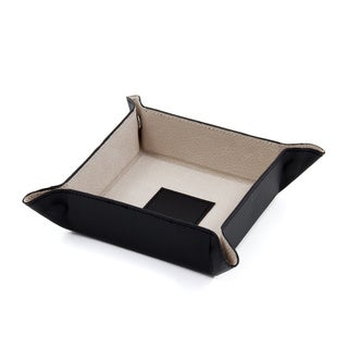 Link to Bey Berk 'Chelsea' Leather Travel Valet Similar Items in Jewelry Boxes