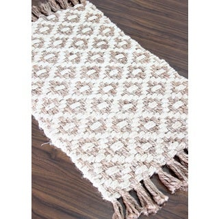 Handmade Jute Diamond Area Rug (2 x 3)