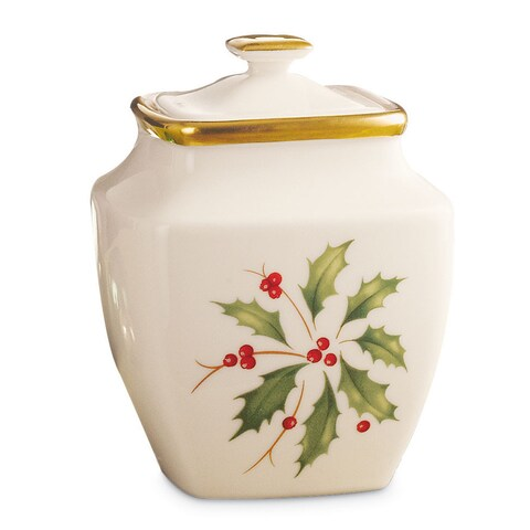 Lenox Holiday Square Sugar Bowl