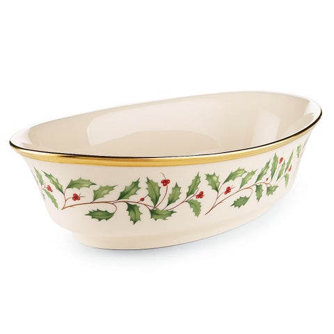 Lenox Holiday Vegetable Bowl