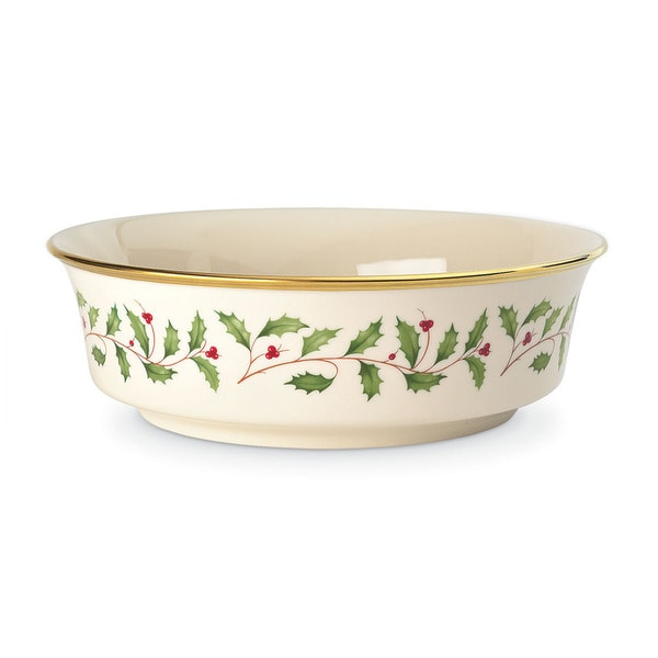 Shop lenox holiday serving bowl free shipping today