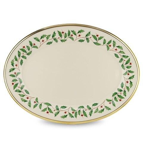 Lenox Holiday 16-inch Oval Platter