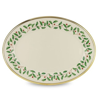 Lenox Holiday 16-inch Oval Platter