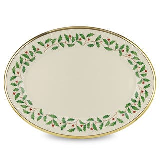 Lenox Holiday 16-inch Oval Platter|https://ak1.ostkcdn.com/images/products/9546802/P16727767.jpg?impolicy=medium