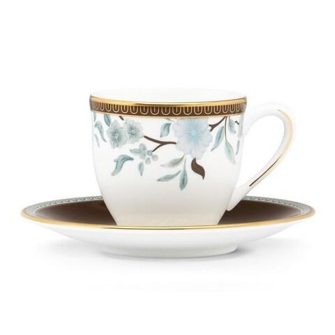 Lenox Marchesa Palatial Garden Demitasse Cup and Saucer