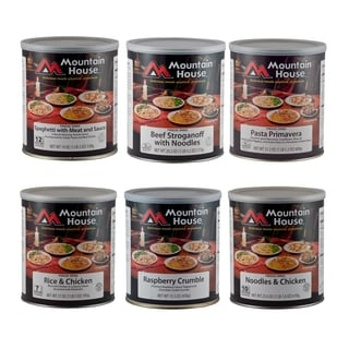 Mountain House Freeze-dried Dinner and Dessert Kit