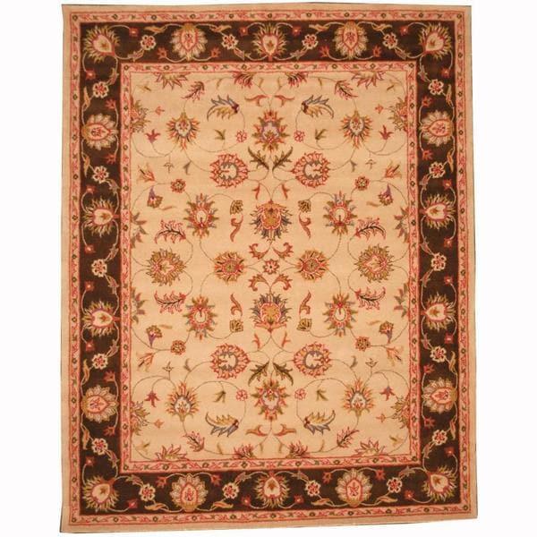 Shop Handmade Herat Oriental Persian Indo Tabriz Wool Rug