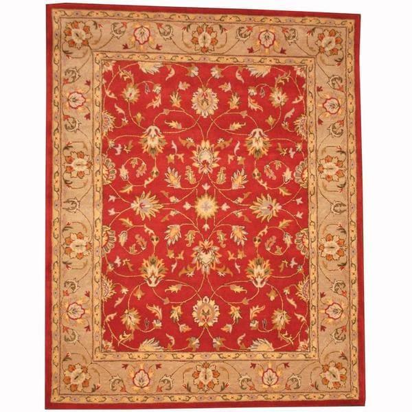 Indo Persian Tabriz Wool Area Rug: Shop Handmade Herat Oriental Persian Indo Tabriz Wool Rug