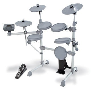 KAT Percussion KT1 5-piece Electronic Drum Set (Option: White)