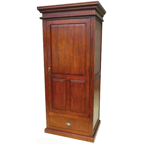 D-Art Collection Solid Mahogany Wood Mathilda Cabinet - N/A