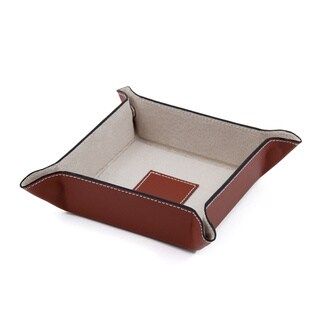 Link to Bey Berk 'Bradford' Leather Travel Valet Similar Items in Jewelry Boxes