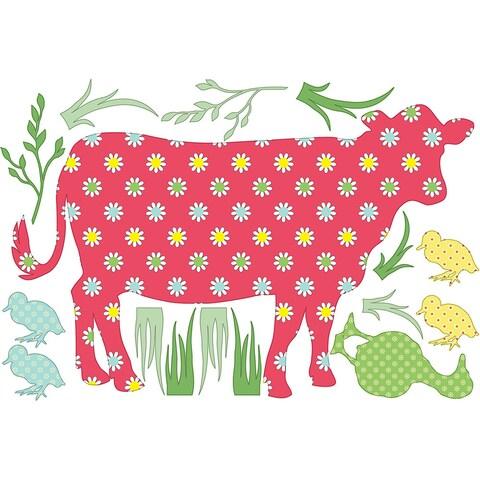 ZooWallogy - Dakota the Cow Decal