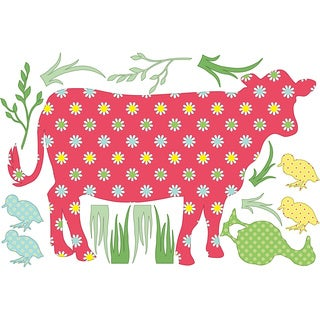 ZooWallogy - Dakota the Cow Decal