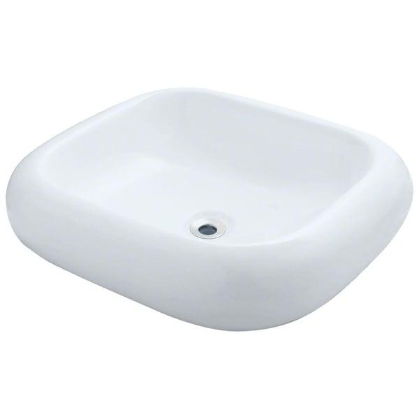 v110 Pillow Top Porcelain Vessel Sink