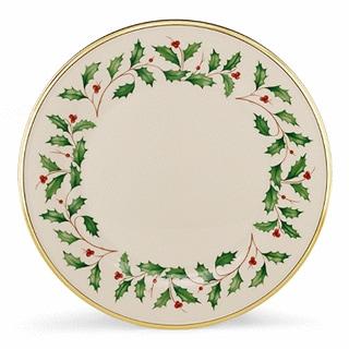 Lenox Holiday Dinnerware Dinner Plate (Set Of 6)  sc 1 st  Overstock.com & Christmas Dinnerware For Less   Overstock.com