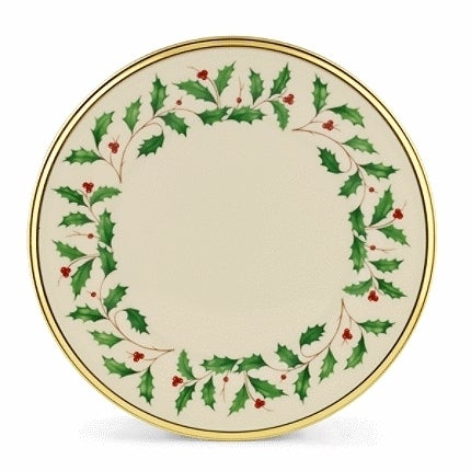 Lenox Holiday Dinnerware Salad/ dessert plate (Set Of 6)
