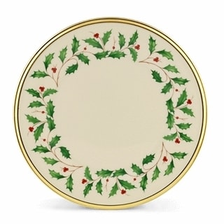Lenox Holiday Dinnerware Salad/ dessert plate (Set Of 6)  sc 1 st  Overstock.com & Lenox Holiday Salad Plate - Free Shipping On Orders Over $45 ...