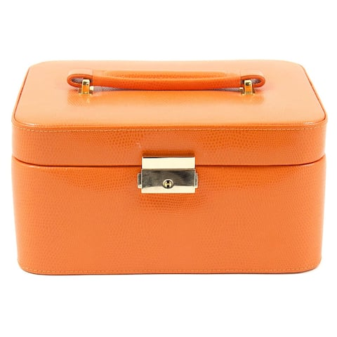 Bey Berk 'Liana' Leather Jewelry Box