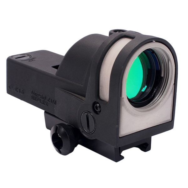 Meprolight Self-powered Day/ Night Reflex Sight with Dust Cover and Bullseye Reticle